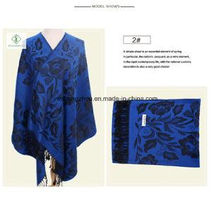 Hot Sale Lady Fashion Pashmina Shawl Ethnic Style Soft Scarf pictures & photos