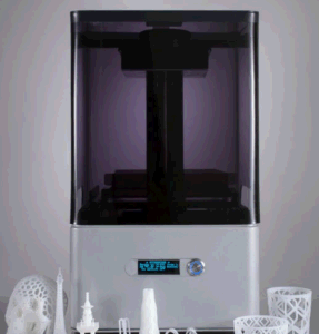 Factory 0.1mm Precision Desktop Resin 3D Printer in Office pictures & photos