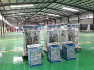 Insulating Glass Machine with Vertical Washer and Flat Press pictures & photos