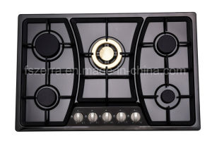 2016 Hot Selling Gas Burner, Gas Cooker, Cooktop (Jzs75001b) Copper pictures & photos