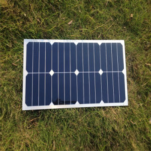 25W Flexible Mono Solar Module Solar Panel for 12V Battery pictures & photos