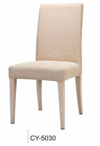 Hotel Restaurant Fabric Metal Dining Chair pictures & photos