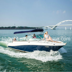 22′ Fiberglass Sporty Leisure Speedboat Hangtong Factory-Direct pictures & photos