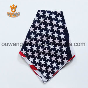 Wholesale Multifunctional New Fashion Paisley Hot Selling Cotton Square Bandana pictures & photos