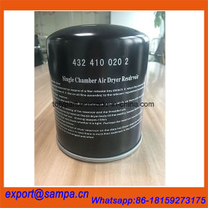 Heavy Truck Air Dryer Cartridge Filter 4324100202 4329012232 4324102227 pictures & photos