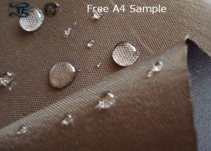 420d Waterproof Poly Oxford PU Coating Fabric for Bag pictures & photos