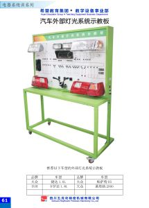 Automotive Training Equipment for Lighting System Equipment pictures & photos