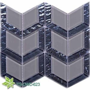 Grey Glass Mosaic /Mosaic Tile (TG-OWD-623) pictures & photos