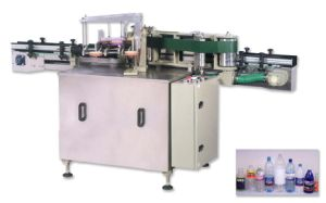 Cold Glue Paper Labeling Machine for Flat Bottle pictures & photos
