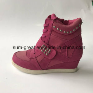 2017 Fashion Kids and Women Blown Cotton Boots with Top Quality 053
