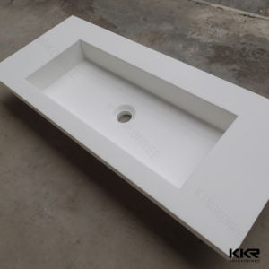 Resin Stone Cabinet Basin Bathroom Wash Basin Sink pictures & photos