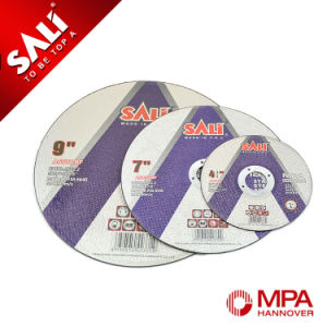 Sali Brand Tools Abrasive Cutting Disc Metal with All Sizes pictures & photos