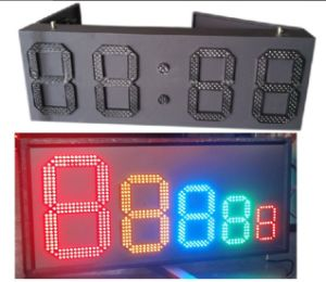 "Outdoor 12"" Red Color, Regular LED Gas Price Sign \ Regular Gas Station Screen\LED Sign Board, 7 Segment of The Modules pictures & photos"