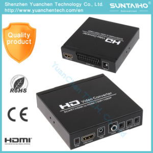 1080P HD Audio Video HDMI Converter for DVD HD Player pictures & photos