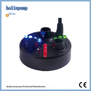 Colorful Ultrasonic Mist Maker Fogger Water Fountain Pond 3 LED Wit Transformer (HL-MMS004) pictures & photos