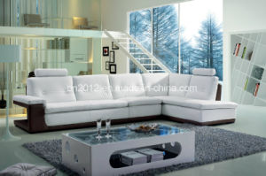 Modern Home Furniture Genuine Leather Sofa (SBL-9048) pictures & photos