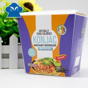 Wholesale 100% Natural Low Calorie Gluten Free Instant Konjac Noodles pictures & photos