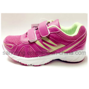 Kids Running Footwear with PVC Injection Outsole (S-0141) pictures & photos
