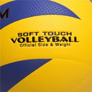 Optimal Customized Vivid Size 5 Drill Volleyball pictures & photos