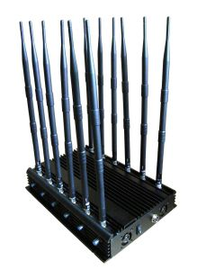 Mobile Phone Jammer with 12 Antennas Blocking All 2g, 3G, 4G Cell Phone Signal Jammer pictures & photos