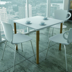 Modern Chrome Leg Plastic Cafe Chair Wholesale (SP-UC388) pictures & photos