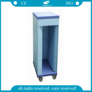AG-Cht006 with 25 Files Holder Ce ISO Approved Hospital File Trolley pictures & photos