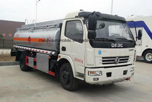 6000 L Gasoline Tank Truck 7 Tons Fuel Tank Bowser Truck Price pictures & photos