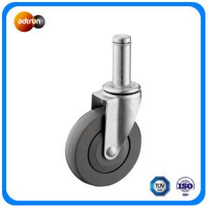 Light Duty Grip Ring Stem PU Wheel pictures & photos
