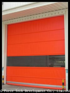 High-Quality Safety Automatic PVC High-Speed Door for The Forklift Health Warehouse pictures & photos