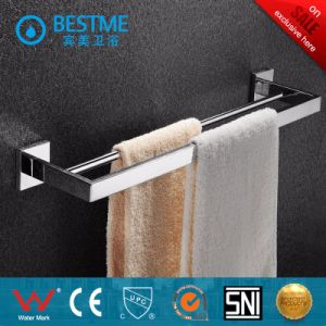 Bathroom Accessories Nickel Brush Towel Rack pictures & photos