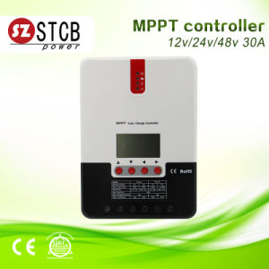 Solar Charge Controller 60A Auto 12/24V/48V for 600W-3200W Solar Panel pictures & photos