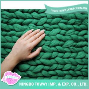 DIY Knitting Blanket Sheep Super Chunky Merino Wool pictures & photos
