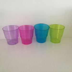 Plastic Cup, Glass, Mug, Tableware, PS, Transparent, Disposable, Clear, Colorful Cup pictures & photos