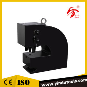 100t Heavy Duty Iron Hydraulic Press Punch Machine (CH-100A) pictures & photos