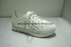 Lady Kpu Rubber with Diamond Flat Rubber Outsole Sneaker pictures & photos