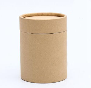 Customized Cardboard Paper Tube Packaging, Paper Canister pictures & photos