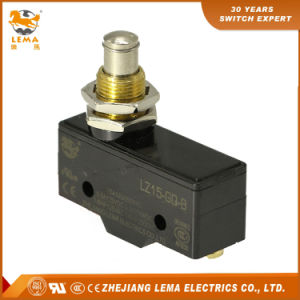 Lema Panel Mount Plunger Micro Limit Switch Lz15-Gq-B pictures & photos