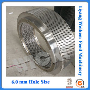 Buhler Series Sinking Fish Feeds Pellet Mill Ring Die pictures & photos