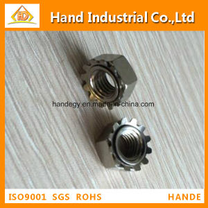 "Stainless Steel Top Quality Ss 304 5/16"" Toothed Nut pictures & photos"