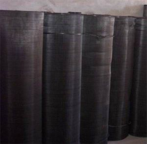 40 Micron Filter Mesh/50 Mesh Black Wire Cloth pictures & photos