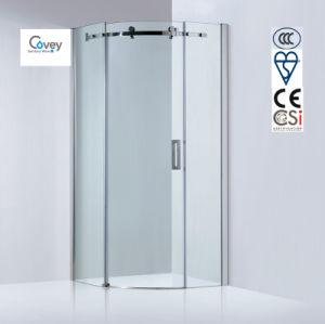 8mm/10mm Glass Thickness Round Shower Room/Sliding Shower Enclosure (Kw05k-C)