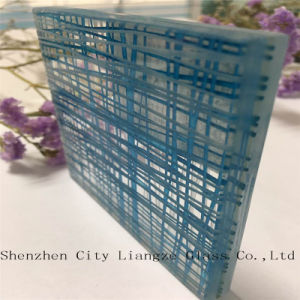 Blue Laminated Glass/Decorative Glass pictures & photos