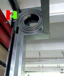 Aluminium Profile Steel Gates Overhead High Speed Roller Shutter Sectional Door (Hz-FC063) pictures & photos