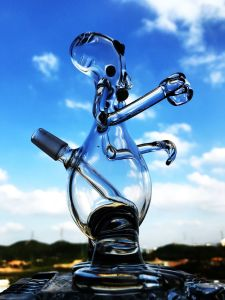 Wholesale 6 Inch Mini Small Glass Art Pipe Oil Rigs pictures & photos