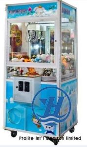 Claw Toy Crane Vending Arcade Game Machine (ZJ-CG27) pictures & photos