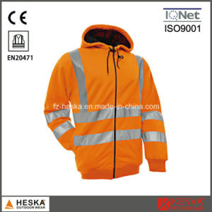 High Visibility Jersey Inside Brushed Sweatshirt pictures & photos