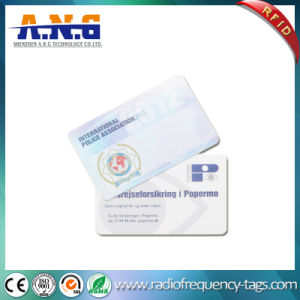 Cr80 ISO Standard Printed RFID PVC Contactless ID Card pictures & photos