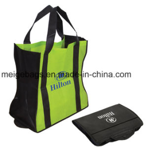 Foldable Non Woven Shopping Tote Bag, with Custom Design pictures & photos