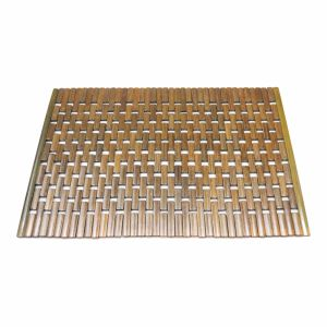 Block Bamboo Place Mat for Tabletop & Flooring pictures & photos
