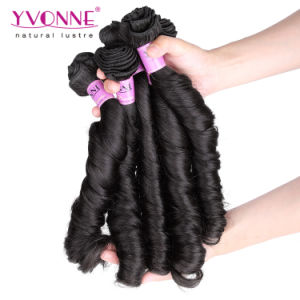 Spring Curly Brazilian Virgin Human Hair Extension pictures & photos